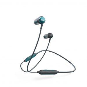 AKG Y100 BT Stereo headset, zöld