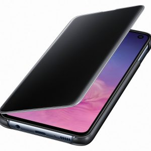 Galaxy S10e Clear View Cover, fekete