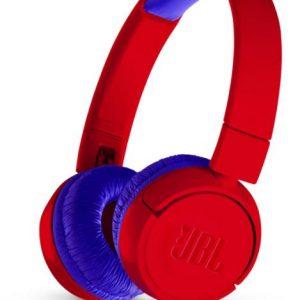 JBL JR300 gyermek fejhallgató, piros
